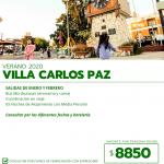 Carlos Paz – Verano – Turismo Tais